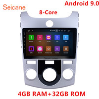 Seicane Octa core 9 Android 9.0 Car Radio Multimedia Player GPS Navigation For 2008 2009 2010 2012 KIA FORTE(MT) With 4G RAM