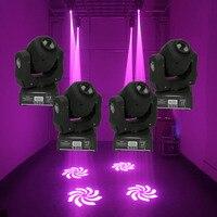 4 Pcs Disegno CALDO 60W mini led spot moving head light 60W gobo teste mobili luci super luminoso LED DJ di Illuminazione della Fase