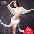 2017 Rushed Branded Garments Belly Dance Costume Set Professional For Women Bellydance bra+Top +Skirt+Leggings FF6127