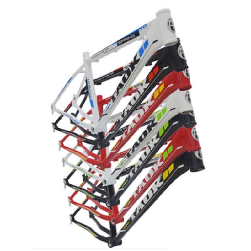 TAOK vtt cadre cadre de la bicyclette 26 pouce en aluminium alliage de tubes sans soudure freins trépied trépied