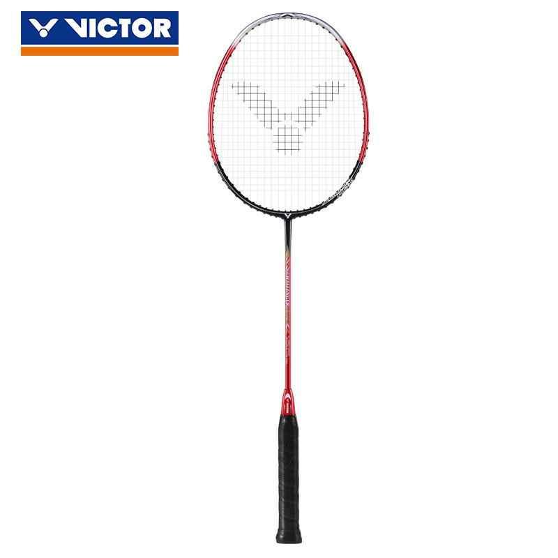 2018 Genuine Victor Training Offensive All Carbon Badminton Racket Beat Single Shot CHA-9500 4U Badminton Racket
