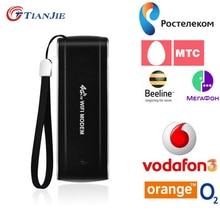 4G Lte Router Wifi USB Dongle Modem Odblokowany Mobile Broadband 'Hotspot Samochód Mifi Wifi Repeater Extender Karta Memory Stick Data