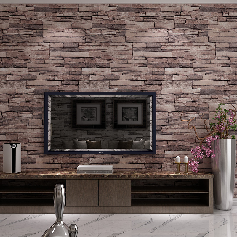 Vintage vinyl Waterproof Brick wallpaper for walls 3 d Chinese 3D wall cover for Hotel Living Room Tv PVC Washable Wall Paper shinehome sunflower bloom retro wallpaper for 3d rooms walls wallpapers for 3 d living room home wall paper murals mural roll