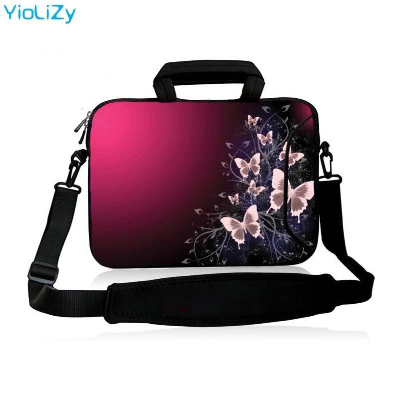 10.1 12 13.3 14 15.6 17.3 polegada Laptop bolsa de ombro bolsa de Mensageiro Notebook tampa do computador manga estojo protetor SB-5567