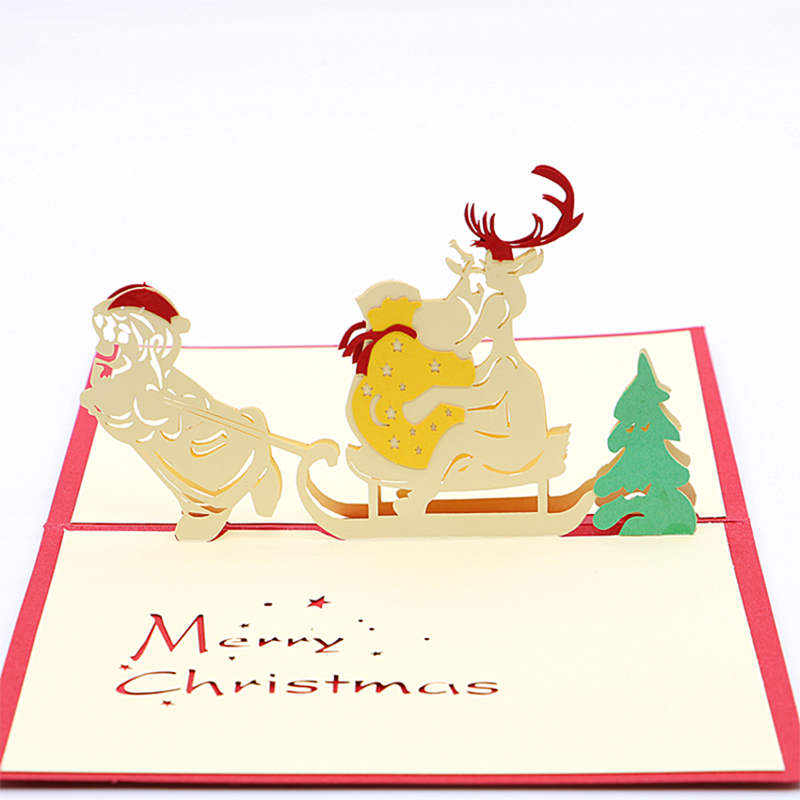 Fashion 3d hollow christmas greeting card invitation letter postcard fashion 3d hollow christmas greeting card invitation letter postcard paper in cards invitations from home garden on aliexpress alibaba group m4hsunfo