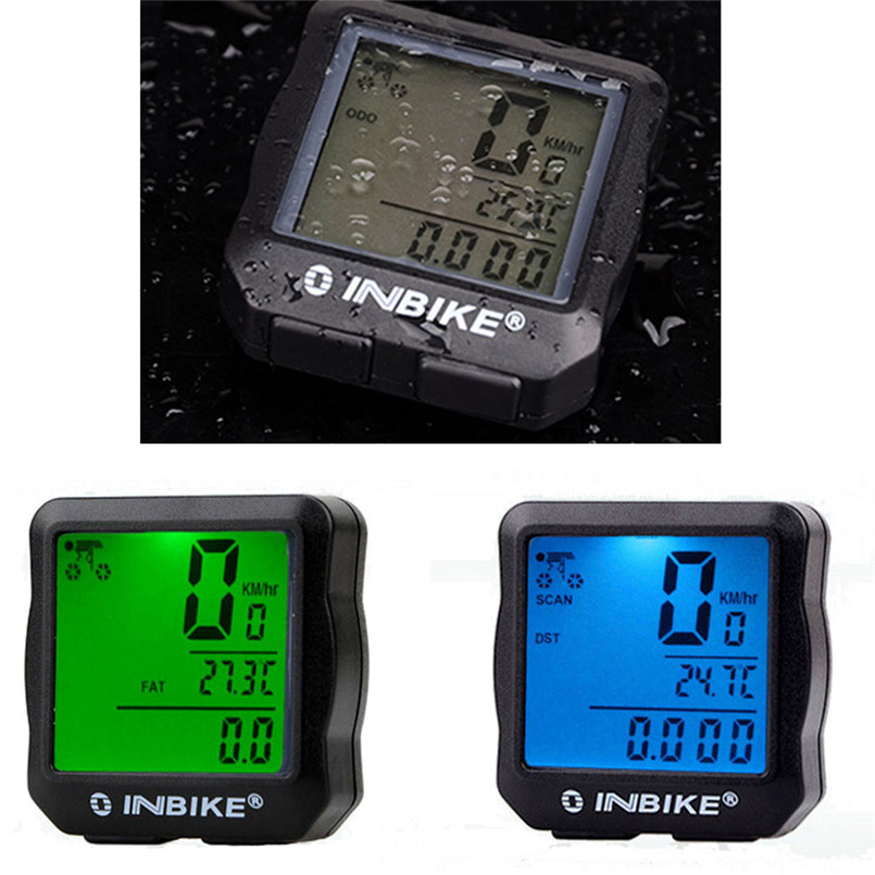Bicycle Computer 2017 bike mtb Waterproof Backlight Cycling Bike Computer Odometer Speedometer цены онлайн