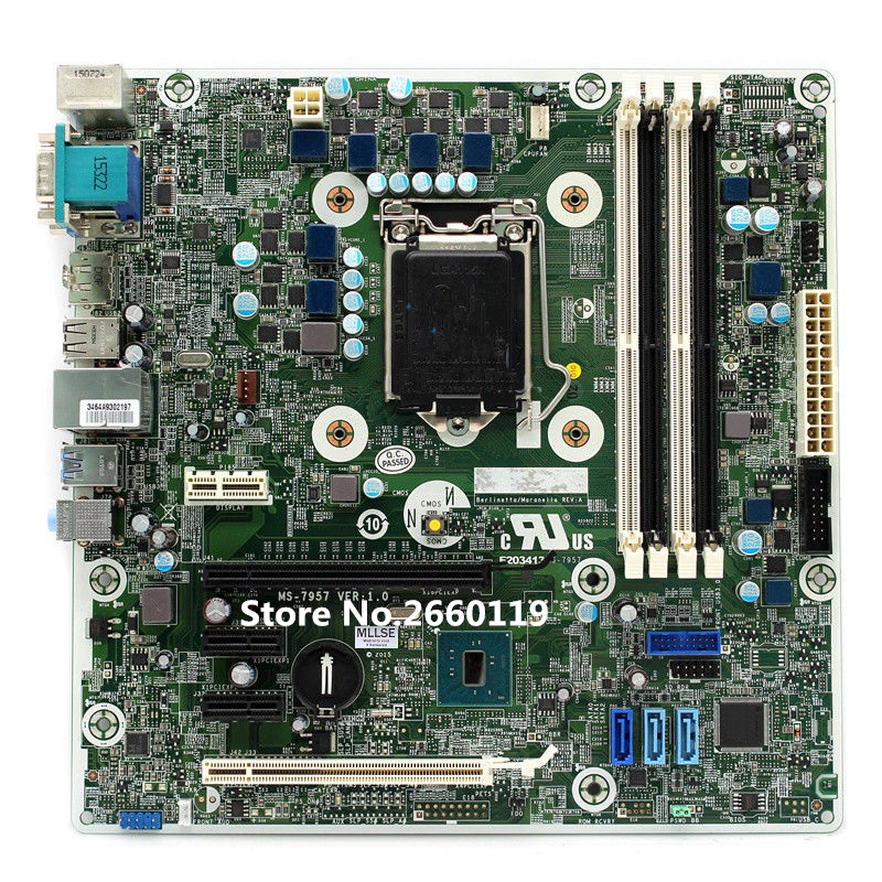 Desktop mainboard for MS-7957 793305-002 793739-001 motherboard Fully tested цена и фото