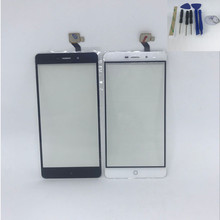 ФОТО for elephone p9000 touch panel touch screen digitizer sensor for elephone p9000 lite tp black mobilephone+tools