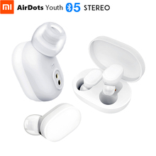 Original Xiaomi AirDots Youth Stereo Bluetooth 5.0 Headset 4.2g Mini Wireless Earphone Touch Control Hand Free Charging
