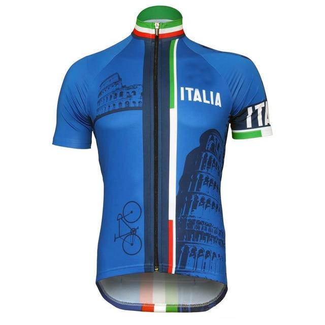Mtb Pro Jersey 2018 Hombre Retro Ciclismo Ropa Italia Equipo Hombres Bicicletas Maillot UZRwqO8R