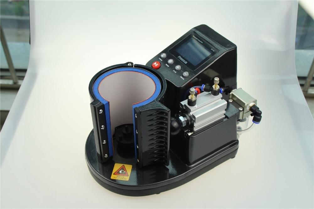 New Ariival ST-110 Pneumatic Mug Press Machine Thermal Mug Heat Press Machine Digital Mug Printer цена 2017