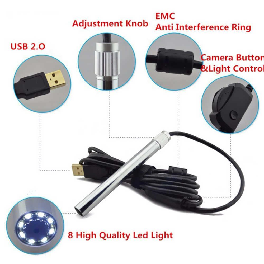Andonstar 500X 8LED 2MP USB Kỹ Thuật Số Kính Hiển Vi Video Webcam Magnifier Máy Ảnh Đứng cho Điện Thoại Di Động Hàn kính hiển vi