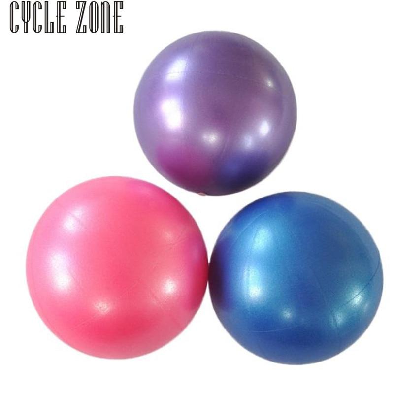 2017 Brand New And High Quality 25cm Exercise Fitness Gym Smooth Yoga Ball Nov21