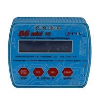 HTRC B6 Mini V2 70W 7A Digital RC Balance Charger Discharger Efficiency Portable