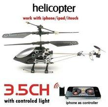 Frete Grátis Venda Quente rc helicóptero 777-172 para o Telefone Do avião de controle remoto de rádio controle 3.5ch gyro & USB RC Quadcopter
