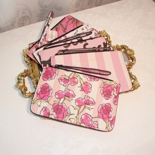 2018 New Well-known Brand Fashion Woman Cosmetic Bags PU Car
