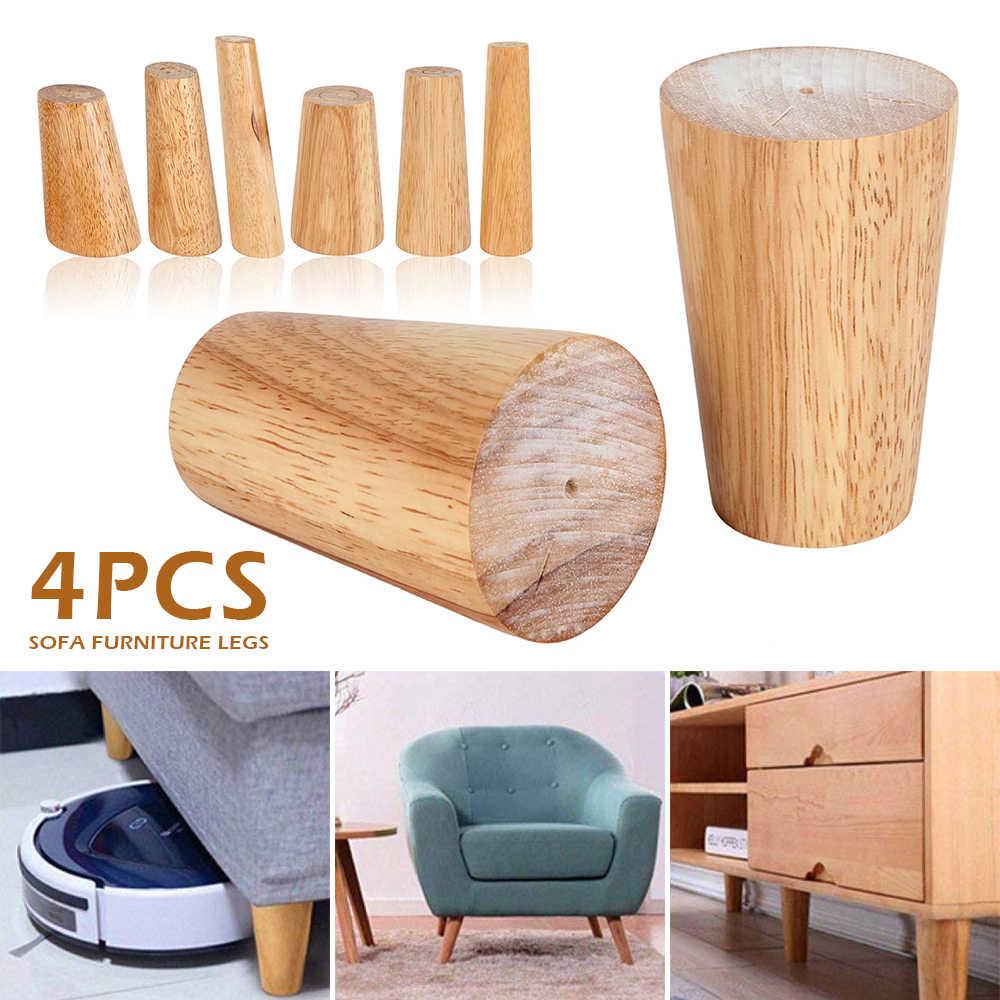 120x56x38 мм Высота надежный Наклонный мебель ноги с железной пластиной диван стол Шкаф ноги набор из 4 Бесплатная Post
