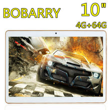 Original bobarry super 10 pulgadas k10 sí octa núcleo 4 gb + 64 gb android 5.1 tablet pc, GPS Bluetooth OTG Wifi