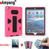 For Apple IPad 9 7 2017 Case Silicon Kids Safe Shockproof Combination Cases For New