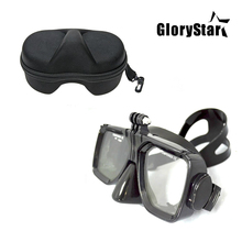 For Gopro waterproof Equipment Underwater Glass Diving Masks for Go Professional Hero digital camera hero session 6/5/4/3+/3/SJ4000 /xiaomi
