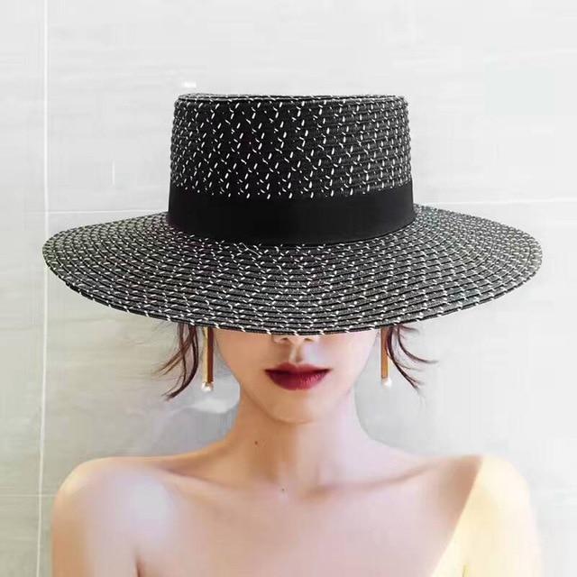 Summer Beach Straw Hat for Women Bow Boho chapeu feminino Weekend Picnic Hat  for Women Deep Color Fashion Hat for Women b1372ba3f99f