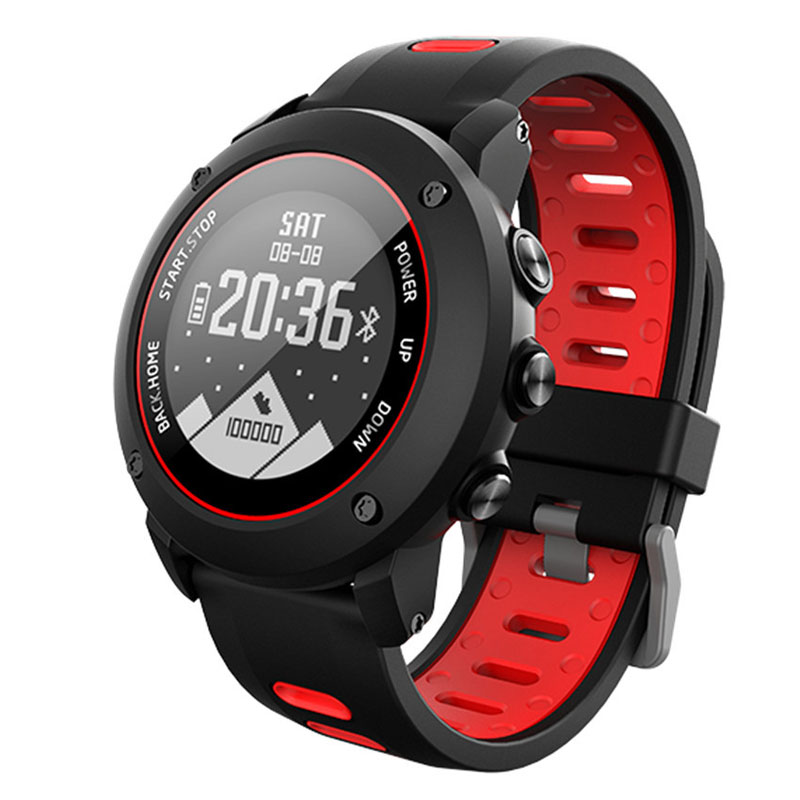 Профессиональные уличные спортивные GPS Смарт часы IP68 100 метров Глубокий водонепроницаемый монитор сердечного ритма компас наручные часы