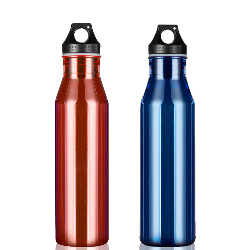 750ml Plastic Water Bottle Leakproof Portable Drinking Bottle For Water Bicycle Sports Bottle BPA Free Hiking Tumbler