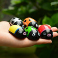 5pcs/lot 4.5*3CM Mixed color Educational toys Lovely Pull Back Ladybug car toys best gift for your kids