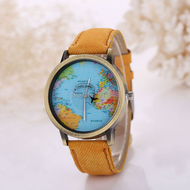 Hot sale new arrival fashion world map fabric band watch men women hot sale new arrival fashion world map fabric band watch men women casual quartz watch popular gumiabroncs Choice Image