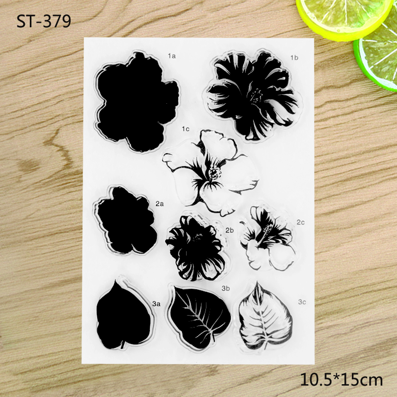 Flowers Transparent Clear Stamp For DIY Scrapbooking Decorative card making craft Fun Decoration Supplies annke 8ch 720p 1500tvl cctv system 8pcs 720p ir outdoor security cameras 8ch 1080n 4in1 dvr kit cctv surveillance system