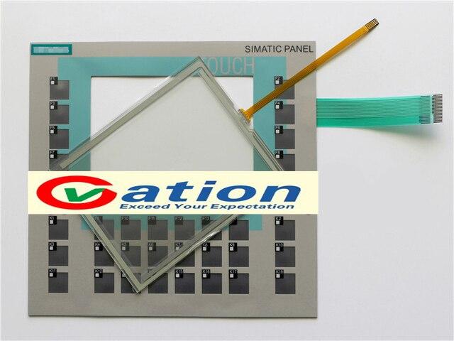 for OP177B 6AV6642-0DA01-1AX0 Membrane Keypad+Touch Screen Glass New