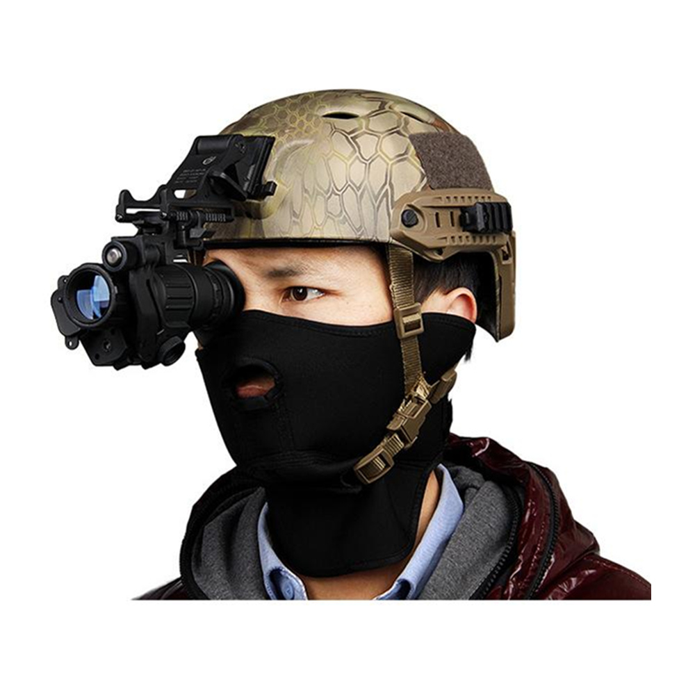 Tactical PVS-14 Night Vision Infrared Scope Device Digital Monocular telescope tactical helmet parts for night hunting