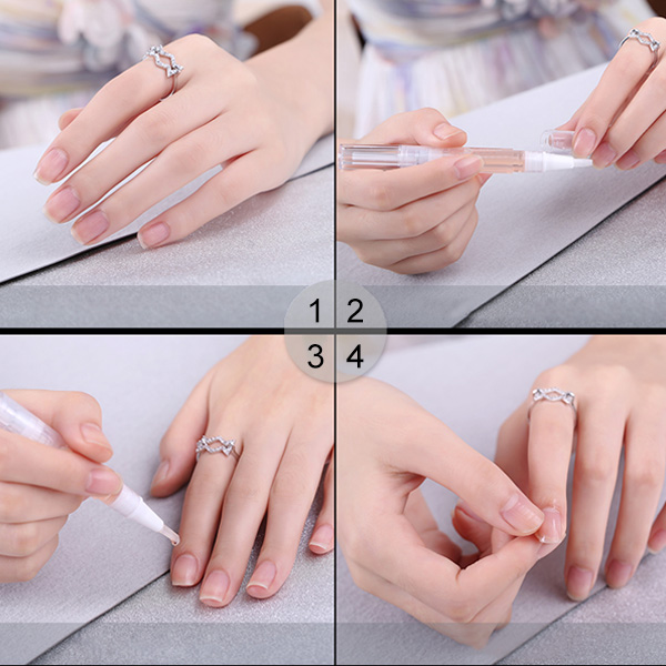Cuticle Revitalizer Nutrition Oil Nail Art Treatment Manicure Soften Pen Tool Nail Cuticle Oil Pen MH88 in Nail Treatments from Beauty Health