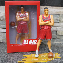 Slam Dunk Takenori Akagi 27 cm 1 pcs/set Boxed PVC Action figure Collection Model Basketball Toy A390