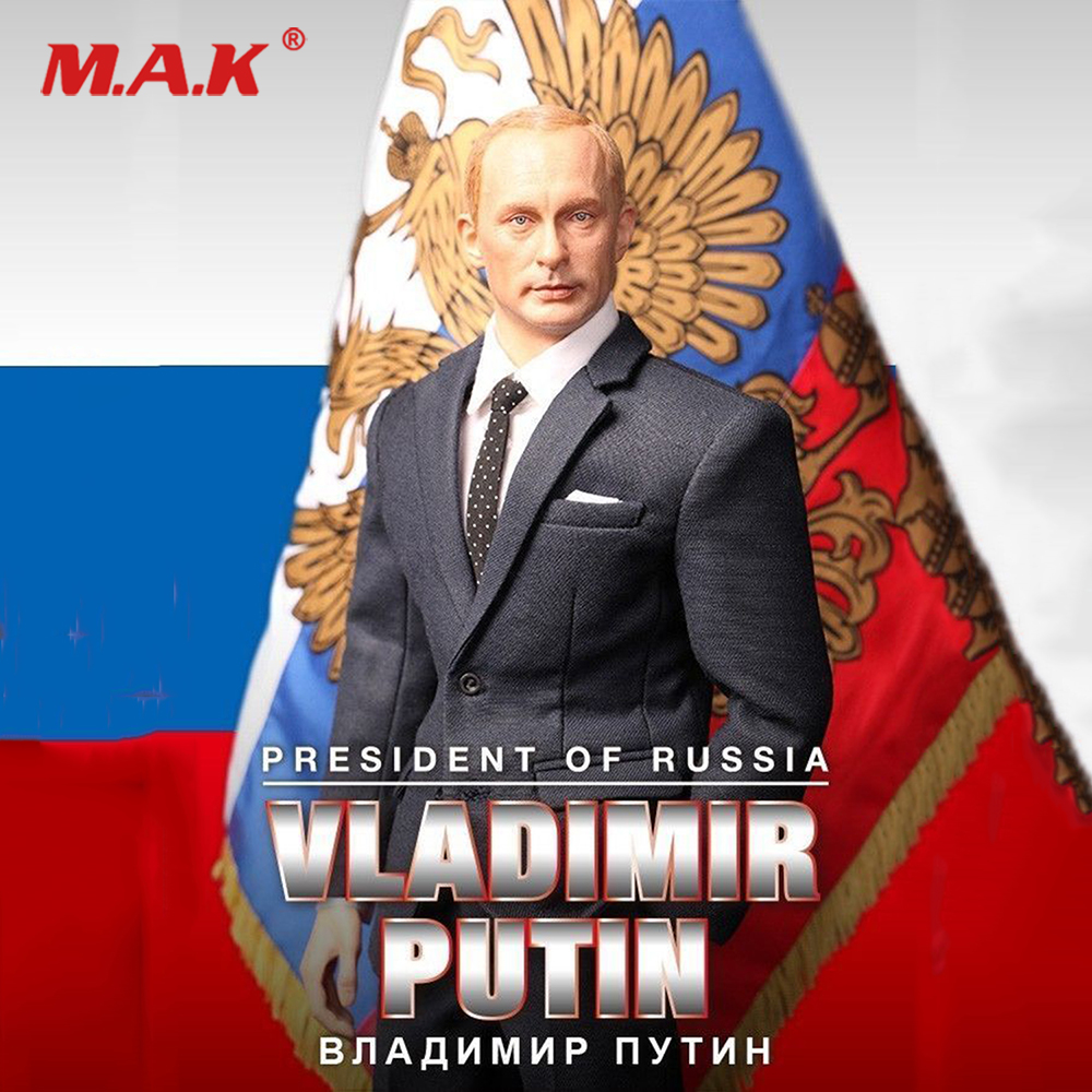 Full set 1/6 Vladimir Putin President of Russia R80114 Figure Model Collection 12'' Action Figure Model Toy for Collection