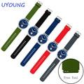 Correa de silicona de calidad 21*18mm de silicona pulseras de reloj de reemplazo para huawei watch