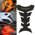 Universal 3D Óleo Do Tanque de Combustível de Gás Da Motocicleta Pad Protector Decalque adesivo Fibra De Carbono Gloss Espinha de Peixe Para Honda Yamaha Rua bicicleta