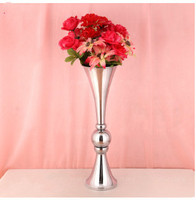 Trumpet Vase,New wedding props European style three sets of vase road layout of hotel layout