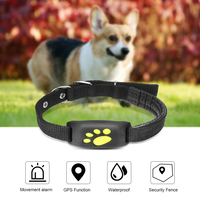 Pet GPS Tracker Dog Cat Collar Water Resistant GPS Callback Function USB Charging GPS Trackers for Universal Gps DogTracker
