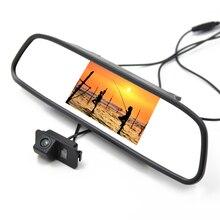 15% скидка! 4.3 дюймов вид сзади автомобиля система с Автомобильная Камера Заднего Вида для Ford Focus Mondeo S-Max Kuga Заднего Вида Парковка Cam