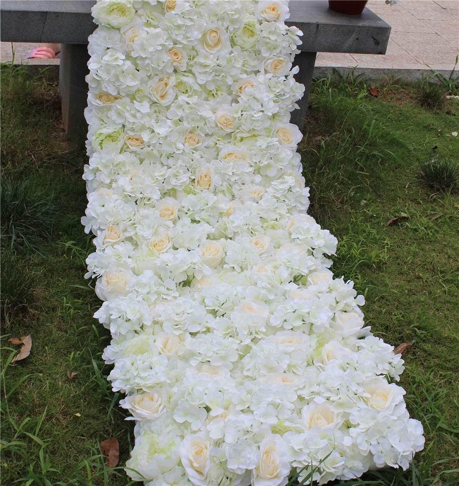SPR 40 cm boule de fleur de rose artificielle de noël, décoration de mariages-café/marron