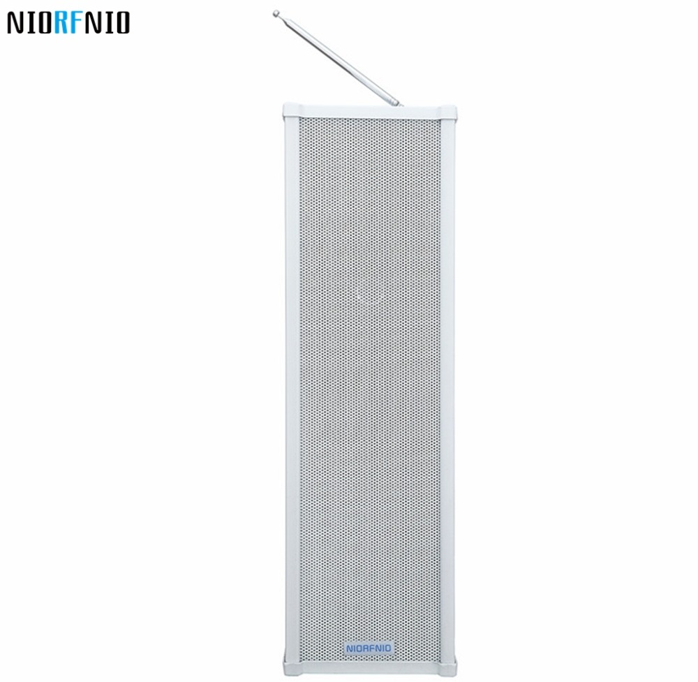 Manufactory Price Free Shipping NIO-R40 40W White Color High Quality Outdoor Waterproof Column SpeakerManufactory Price Free Shipping NIO-R40 40W White Color High Quality Outdoor Waterproof Column Speaker