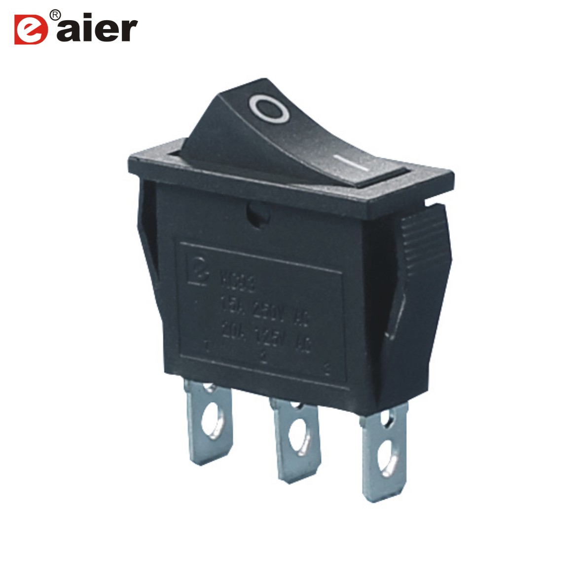 5pcs on on 3 pins 2 position rocker switch t105 250v 15 amp spdt 10 28mm 20a 125vac switches single pole without light [ 1180 x 1180 Pixel ]