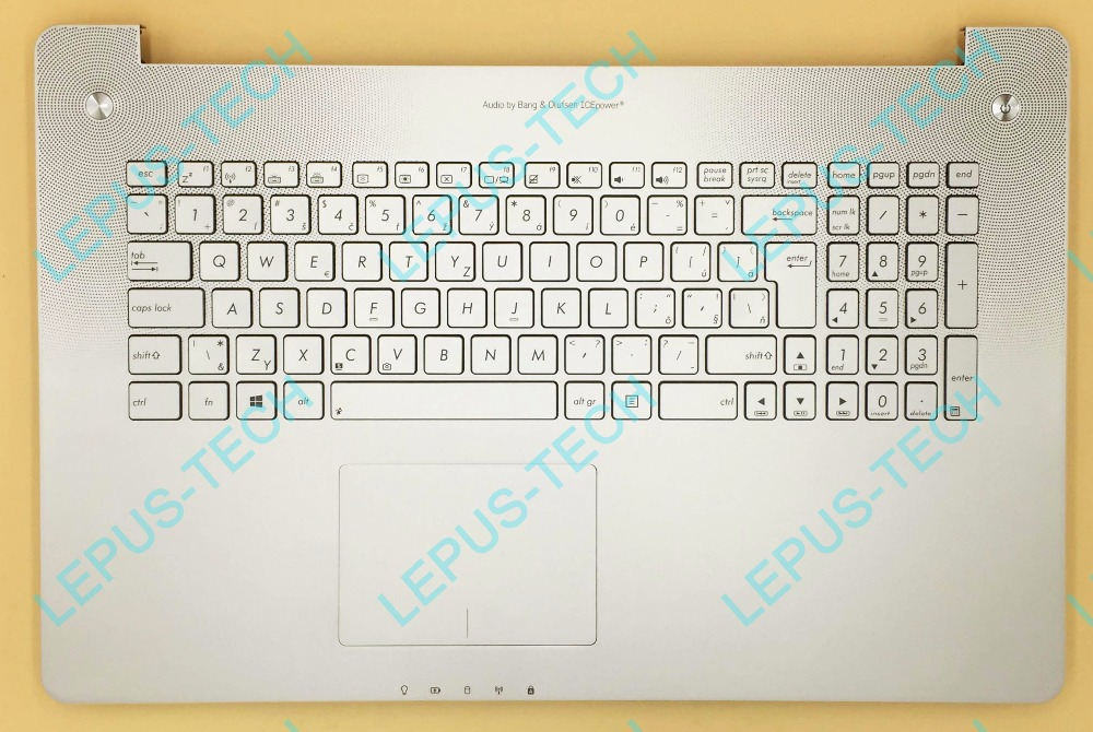 SK Keyboard for ASUS N750 N750JK N750JV with backlight top case palmrest Slovakia layout sweden slovakia