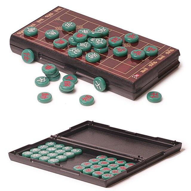 Jeu d'échecs chinois, Imitation de Jade plateau magnétique de haute qualité, 5