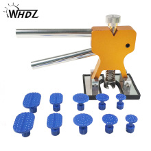 WHDZ PDR Tools Paintless Dent Repair Tools Dent Removal Dent Puller Tabs Dent Lifter Hand Tool Set PDR Tool kit triclicks car body panel t bar paintless hail repair pdr dent lifter removal tool 5 tabs suckers tool kit hand puller pdr tools