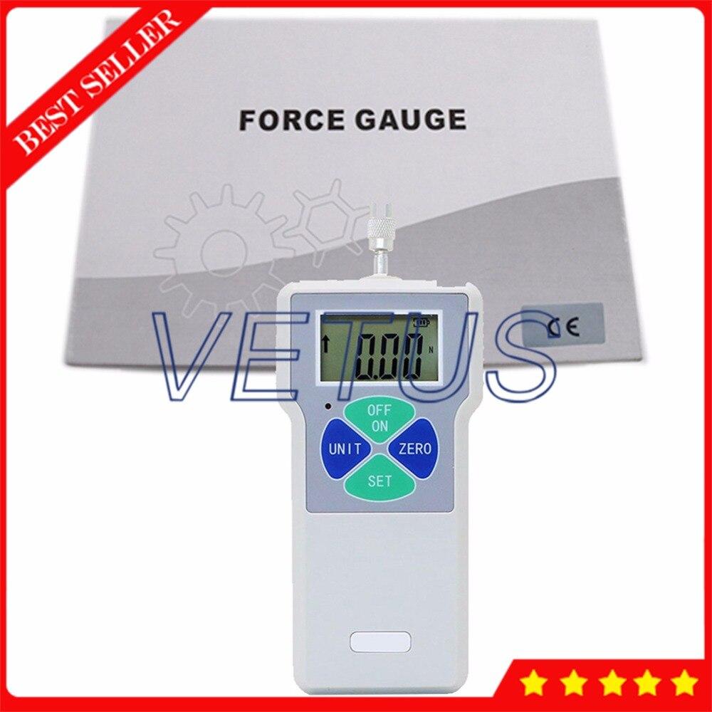 SF-300 Handheld Force Meter Digital Push Pull Force Gauge 300N //30kg //65Lb