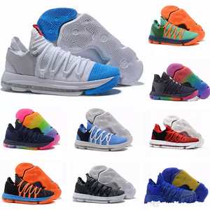 18623c12f4ea New Zoom KD 10 Anniversary Red Still Kd Igloo BETRUE Oreo Men Basketball  Shoes USA Kevin Durant Elite KD10 Sneakers