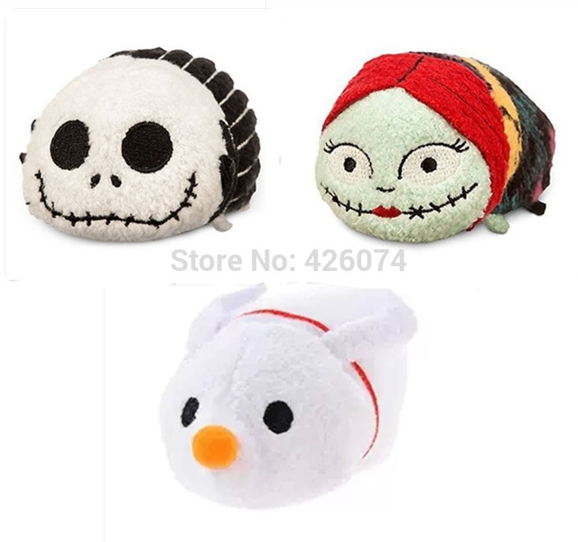 new mini tsum tsum the nightmare before christmas jack sally zero dog kids plush toys smartphone