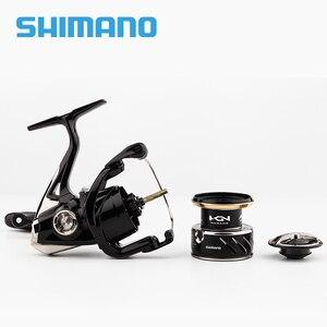 Image 4 - SHIMANO SUSTAIN 2500 2500HG 3000XG c3000HG 40004000XG C5000XG İplik balıkçılık Reel 8 + 1BB 6.0:1/6 2:1 X gemi ROTOR iplik makarası